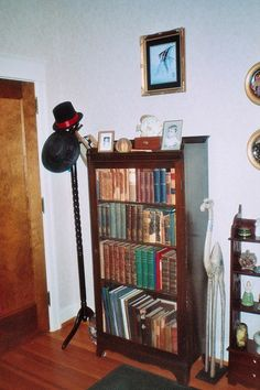 Personal Collection of Dan Downing. Free Standing Book Case