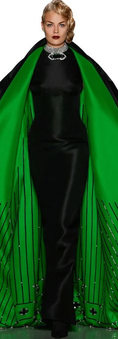 Zang Toi Designs Fall 2014, I think she means business!