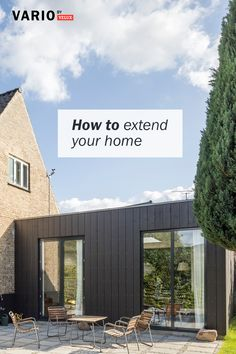 In this guide, we walk you through what you'll need to know and think about before you begin your house extension project. House Extension Design, Glass Extension, House Design, Building Extension, Extension Ideas, Bungalow Extensions, House Extensions, Modern Brick House, Bungalow Conversion