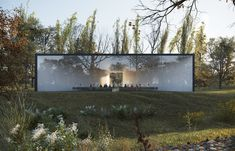Gallery of HofmanDujardin Reimagine How We Say Goodbye to Loved Ones with New Funeral Center - 1