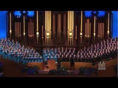 O Divine Redeemer - Mormon Tabernacle Choir I love the Tabernacle Choir and the music of Charles Gounod. I think this is my favorite of his works. I have sun this in choirs and as a solo more times than I can count. Mormon Tabernacle, Tabernacle Choir, Z Music, Music Like, Mormon History, Spiritual Music, Church Music, The Osmonds, Believe