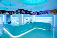 Sensory Experience at Pharma Plus Designed by H Studio