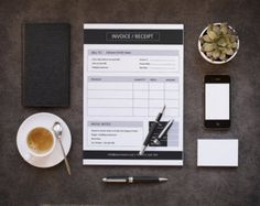 moonlight excel invoice template | invoice templates | pinterest, Invoice templates