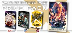 XMen Prize Pack containing (3) X-Men Graphic Novels AND (1) X-Men: Days of Future Past film poster from artist Richard Davies