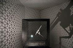 Conrad Shawcross Slow Arc in a Cube IV, 2009