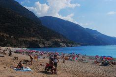 Olu Deniz beach in Turkey