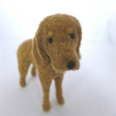 Meet Leroy - a needle felted little pup looking for his forever home! $47