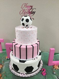 Girls Soccer cake- This is my cake now being featured in Amazing cake ideas- voting on cake is still happening until March 8th
