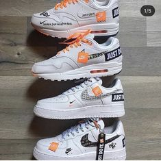 The post Welches Set willst du? Kommentar unten bel appeared first on beste Schuhe. Sneakers Mode, Custom Sneakers, Custom Shoes, Sneakers Fashion, Shoes Sneakers, Zapatillas Nike Air, Nike Air Huarache, Nike Air Shoes, Nike Air Max