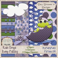 Day Dreams 'n Designs: SNP May Blog Train Freebie!
