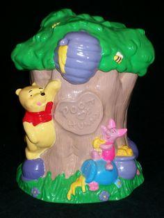 VTG Houston Harvest Winnie the Pooh Hunny Tree Cookie Jar #31637