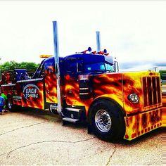 ✖☆✖ Trucks 3 ✖☆✖Peterbilt custom 379 Wrecker