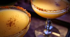 The Benedict - Cocktail Buzz (Christmas Halloween New Years Thanksgiving Dairy Meat Egg products Animal products French Brandy Ground cloves Fresh tarragon Bacon Advocaat Vodka Cognac) Cocktails For Parties, Fruit Drinks, Beverages, My Bar, Yummy Food, Tasty, Hors D'oeuvres, Exotic Fruit, Good Enough To Eat