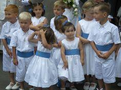 Cortège Anne-Claire: Blanc et Azur
