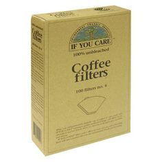 If You Care No. 4 Coffee Filters, 100-Count Boxes (Pack of 12) by If You Care. $43.84. 12 1/2 in x 16 in. Parchment paper precut for your convenience. Each sheet 200 sq. in. Reduces the amount of chlorine in our environment. Non-toxic when incinerated. Quilon free. Will not affect taste of baked goods. No greasing needed. Chrome free - contains no heavy metals. Microwave safe. Oven proof up to 450 degrees F/240 degrees C. Used by professionals. What's a baking paper...