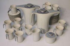 Kaffeeservice Tac 2    Rosenthal, Selb  Walter Gropius und Louis McMillen  Entwurf: 1969