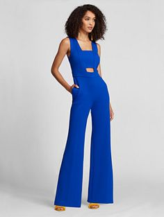 0e017a4d6c04 Cut Out Jumpsuit - Gabrielle Union Collection