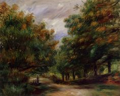 Road near Cagnes by Pierre-Auguste Renoir