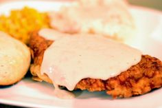 Aunt Bee's Recipes: Chicken Fried Chicken & Cream Gravy #ComfortFood #Southern