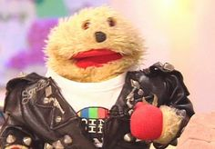 Gordon the Gopher-Gordon was Phillip Schofield's sidekick in The Broom Cupboard, the between-show chat on BBC children's telly. Gordon then followed Phil to Saturday morning's Going Live! where he was famously mauled by a puppy. Thankfully he was unharmed.