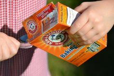Baking Soda Experiments for kids
