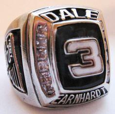 Championship Ring.  #DaleEarnhardtMemorial http://www.pinterest.com/jr88rules/dale-earnhardt-memorial/