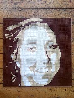custom LEGO portraits  Large by StefanBirch on Etsy, £450.00