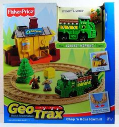 GeoTrax Chop 'n Haul Sawmill with Miter, Chopper & Stumpy - The Hardest Working Team by Fisher Price, http://www.amazon.com/dp/B001GXRB66/ref=cm_sw_r_pi_dp_8ntcrb0DJ8MT8