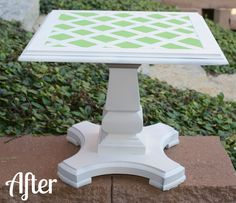 Michelle's Pixie Dust: Green with Envy: End Table Makeover!