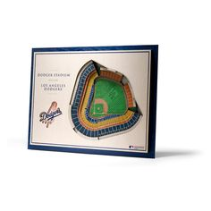 Add dimension to your decor with the Stadiumviews Wall Art. We take five layers, each in. thick, and assemble them to create a three-dimensional work of stadium art that commands attention. The light weight and the pre-cut notch on the 3d Wall Decor, 3d Wall Art, Wooden Wall Art, Wooden Walls, Art Decor, Mlb, Framing Effect, Dodger Stadium, Sports Wall