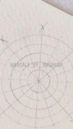 Mandala Art Therapy, Mandala Art Lesson, Mandala Artwork, Mandala Painting, Art Drawings Beautiful, Art Drawings For Kids, Art Drawings Sketches Simple, Easy Mandala Drawing, Doodle Art Drawing
