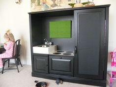 play kitchen oven room sink stove repurposed revamp buy diy kids furniture