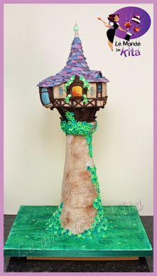 Le Monde de Kita: La Tour de Raiponce Pour l'anniversaire de mon ain...