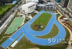Xinshi Elementary School New Taipei City 1 Jogging Track, Running Track, Running Away, New Taipei City, New City, Pista, Indoor Track, Sport Park, Public Square