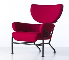 Franco Albini,PL 19 (Tre pezzi), 1959-61. Made by Poggi / Cassina. Via Abitare.