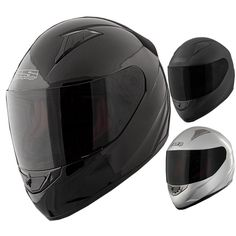Speed and Strength SS1500 Solid Speed Mens Street Riding Motorcycle Helmets