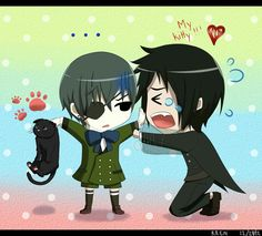 Sebastian is so cute!!