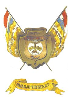 Coat-of-arms of the Oranje Vrijstaat (Orange Free State) 1854-1902