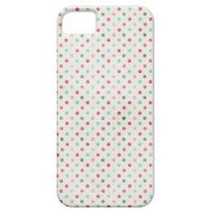 Pastel Grunge Polka Dots iPhone 5 case - dec 22