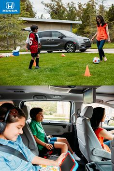 Soccer moms know how to roll. The all-new 2018 Odyssey features available Magic Slide™ seats that can be moved to make room for sporting equipment and all your little athletes. North Olmsted, Honda Odyssey, Car Hacks, Family Adventure, Tom Holland, Sports Equipment, Ohio, Soccer Moms, Future House