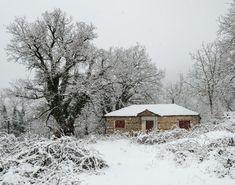 8 ελληνικά χωριά του χειμώνα