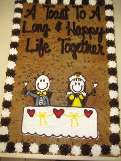 Happily Ever After Cookie Cake Lanny's favorite when he was young! Cookie Cakes, Cookie Pie, Cookie Decorating, Decorating Ideas, Army Wedding, American Cookie, Toot, Something Blue, Decorated Cookies