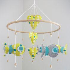 "Make a Splash: 5 ""Under The Sea"" Handmade Baby Mobiles"