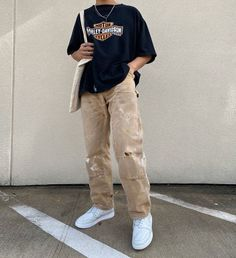 Indie Outfits, Teen Fashion Outfits, Retro Outfits, Vintage Outfits, Stylish Mens Outfits, Cute Casual Outfits, Outfits For Boys, Streetwear Mode, Streetwear T Shirts