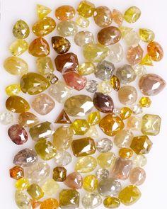 What Are Rose Cut Stones? Rose cut diamonds, rustic diamond engagement ring, alternative stones engagement ring, natural diamond, yellow diamonds, nature inspired engagement