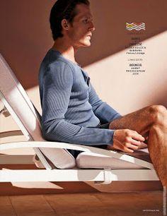 'Tres Pool': Editorial por Jem Mitchell para GQ Alemania Junio 2015 | Male Fashion Trends