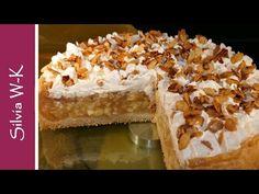 YouTube Kenwood Cooking, Tiramisu, Delicious Desserts, Tart, Cake Recipes, Food And Drink, Pie, Sweet, Fruit