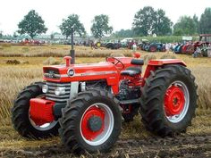 Massey Ferguson 188 with front assist