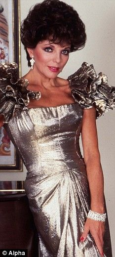 Dust off your shoulder pads - Eighties power-dressing is back ... and about time too, says JOAN COLLINS