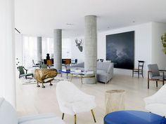 apartment of george yabu and glenn pushelberg, award winning architects, in new york